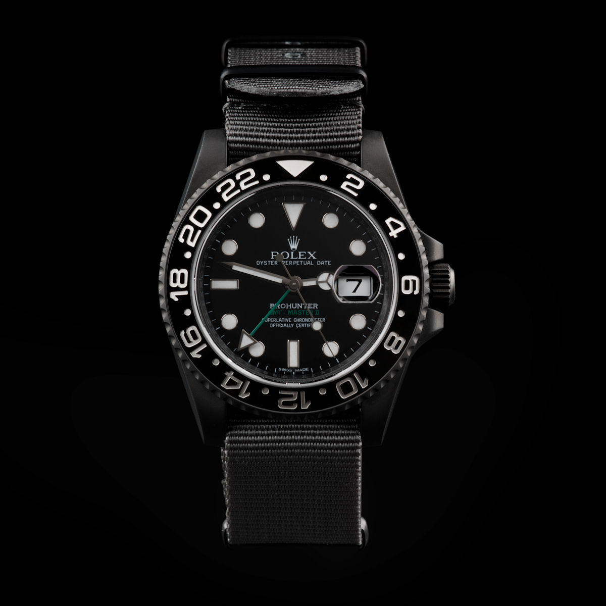 Stealth Military GMT-Master II