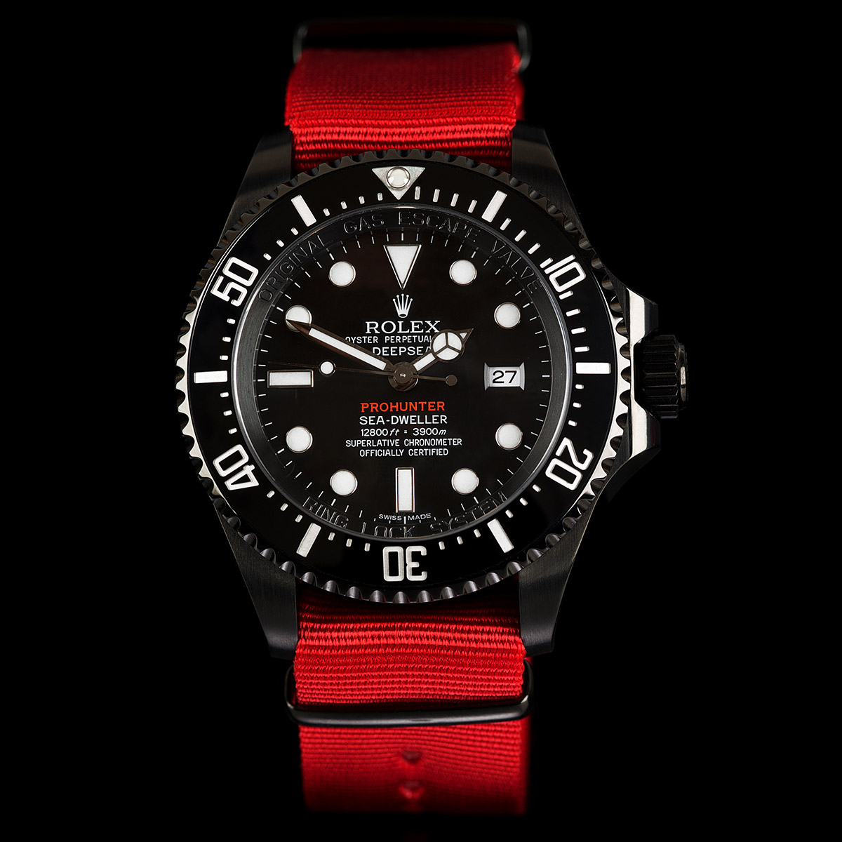 Single Red Military Deepsea