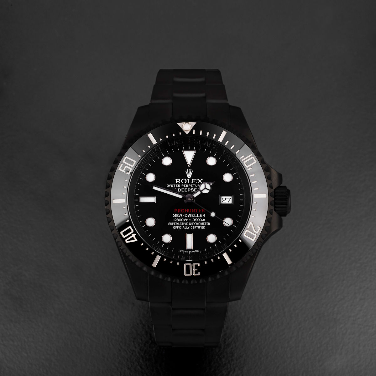 Single Red Stealth Deepsea