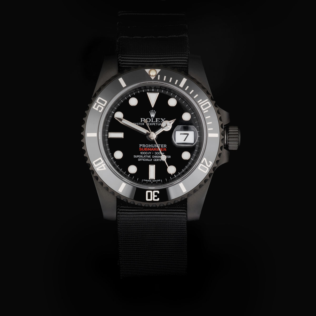 Military Stealth Submariner Date
