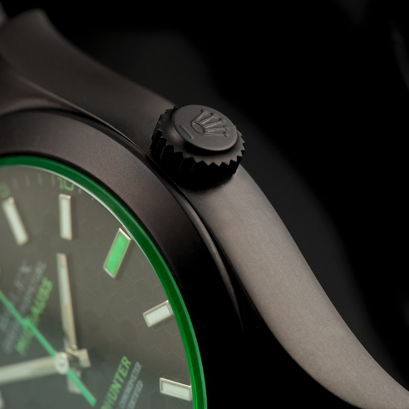 Milgauss Green Honeycomb