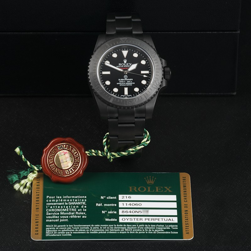 Submariner Military with Bracelet